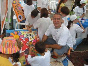 Primeiro trabalho de integração com arte, convidado pela Nena Mir (ADD Comunicação - Joinville / SC).